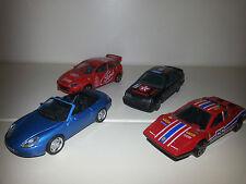 Lotto 4 Modellini Porsche - Ford Focus- Ford Sierra – Ferrari - Bburago