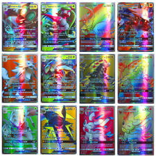 120Pcs Pokemon Cards 115 GX + 5 MEGA Holo Flash Trading Cards Bundle Mixed LOT