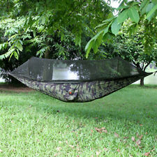 TECHTONGDA Outdoor Jungle Parachute Mosquito-repellent Hammock Camping Travel
