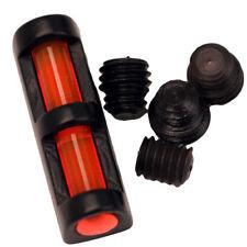 NEW! TRUGLO Long Bead Fiber Optic Shotgun Sight Universal Red TG947UR