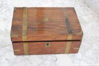 SCATOLA ANTICA IN LEGNO SCRITTOIO DA VIAGGIO EPOCA 800  VICTORIAN WRITING  BOX