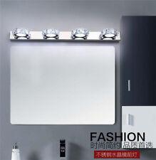 LED Bathroom Mirror Front Light Wall Lighting Modern Bathroom Crystal Wall Lamp
