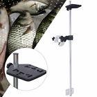 Portable Universal Transducer Bracket +Fishfinder Mount Bracket Adjustable Stock
