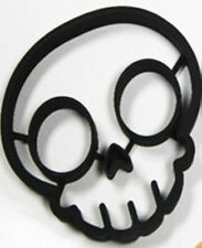 Skull Halloween Egg Pancake or Cookie Silicone Mold