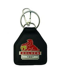 1967 Holden Real Leather and Metal Keyring / Keyfob