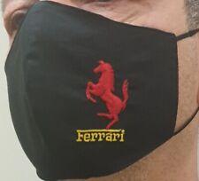 Masckerina  Ferrari F1 Personalizzate 100%Cotone Due Strati Logo ricamato