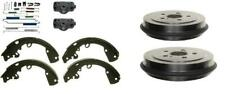 Chevrolet Colorado GMC Canyon Rear Brake Drums Shoes cylinder springs 2004-2008