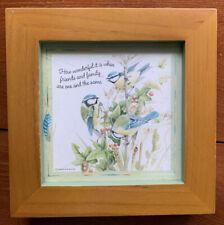 Marjolein Bastin Hallmark Natures Sketchbook Plaque Birds/Friends/Family-6� x6�