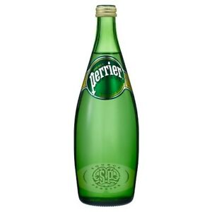 Perrier - Sparkling Water - Case of 12  x 750 ML Glass Bottles