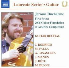 Jérôme Ducharme: Guitar Recital, New Music