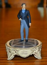 Gone with the Wind Franklin Mint Rhett Butler sculpture with dome
