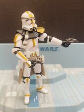 STAR WARS AOTC   ACTION  FIGURE  LOOSE -CLONE TROOPER 327th STAR CORPS