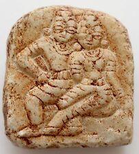 Buddha Stein klein Talisman Platte Nepal Burma Thailand Indien Tibet (?)
