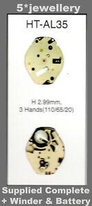 Hattori HTAL35 HTAL55  new watch battery quartz works movement  moduel