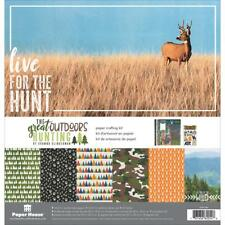 The Great Outdoors Hunting 12x12 Scrapbooking Kit Paper House KTSP1063 New