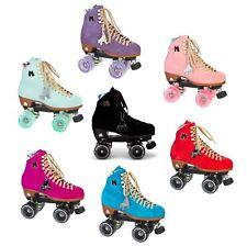 Moxi Set Lolly Roller-Skates Patines Retro Figura Disco Del Rodillo Piel de Ante