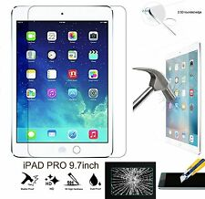 Apple iPad AIR 1,2 PRO 9.7inch 9H HD 100%Genuine Tempered Glass Screen Protector