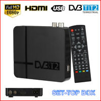 DVB T2 HD 1080P Terrestrial Receiver DVB T2 TV Tuner Decoder H.264 Set Top Boxes