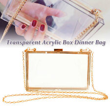 Premium Acrylic Transparent Shape Evening Bag Prom Clutches Women Ladies Handbag