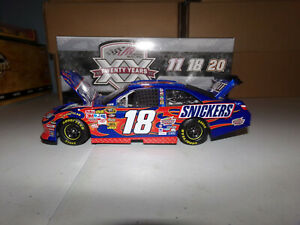 1/24 KYLE BUSCH #18 SNICKERS  2011 ACTION NASCAR DIECAST