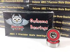 10 Packs Owlsome ABEC 7 Precision Skateboard Longboard Bearings