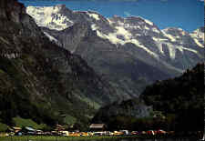 1983 Stempel und Postkarte STECHELBERG Kanton Bern Schweiz Postkarte gelaufen
