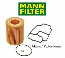 BMW E39 E46 E60 M54 Z3 Oil Filter Kit & Housing Gasket Mann / Ajusa