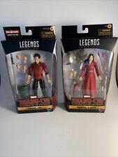 Lot of 2 Marvel Legends Shang-Chi and Marvel's Katy 6-Inch Action Figures