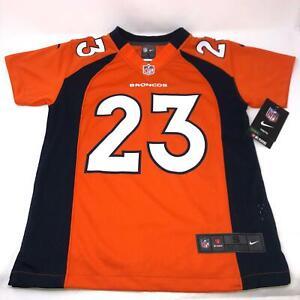 Nike NFL Denver Broncos Willis McGahee #23 Orange Jersey Youth 8 Small