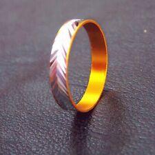 Classic simple fashion thin section narrow titanium men women wedding ring
