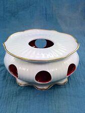 Royal Porzellan Bavaria KM Germany Handerbeit Candle Tealite Holder