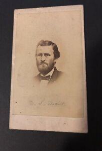 """CDV, """"U. S. Grant """", CDV  Ulysses S Grant"""