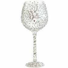 Santa Barbara Design Studio GLS20-5524B Lolita Super Bling Collection Wine Glass