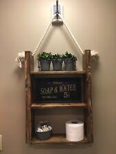 "Hanging Bathroom Shelf - Standard size 25""x18""x5.5..."