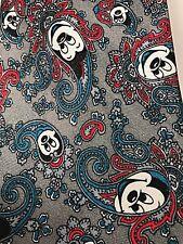 Mickey Mouse Disney Necktie Chirlston Grey Gray Navy Blue Red Black White