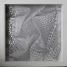 Silver Backing Sheet, IKEA RIBBA BOX FRAME Metalic Silver, Grey Backing Sheet