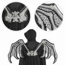 Adults 3D Skeleton Bone Gothic Wings Halloween Zombie Nightmare Bat Fancy Dress