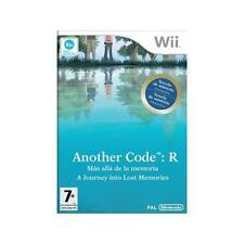 Nintendo Wii PAL version Another Code R (mas alla de la memoria)