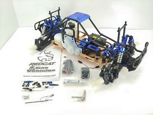 NEW: REDCAT RACING RAMPAGE MT V3 1/5 SCALE GAS POWERED RC MONSTER TRUCK ROLLER