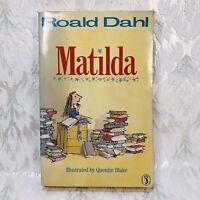 Roald Dahl. Matilda. Illustrator Quentin Blake 1st Print Puffin Paperback Rare