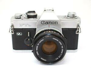 Canon FTb 35mm SLR Camera + 50mm f1.8 Standard Lens