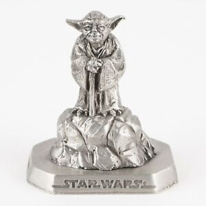 Yoda | Vintage 1990s Star Wars Figure by Rawcliffe Pewter