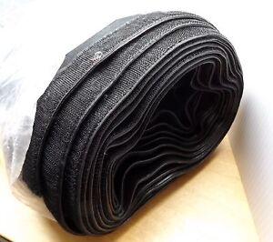 COMBAT SPORTS INTERNATIONAL CSR2 RINGSIDE CLOTH RING SKIRT 3' X 20' BLACK