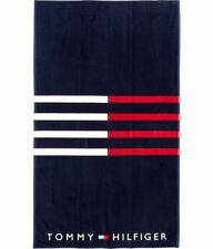 Tommy Hilfiger Extra-Large Beach asciugamano-BANDIERA a strisce (113 CM x 176 cm)
