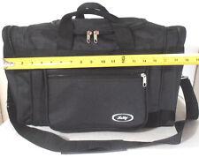 "TOTE BAG 18"" INCH 30LB. CAPACITY BLACK DUFFLE GYM BAG  LUGGAGE BAG"