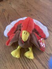 Gobbles The Turkey - Ty Beanie Baby Canada Tag