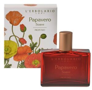 L'erbolario Sweet Poppy Perfume For Women With Floral And Amber Scent 50ml