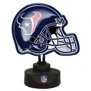 Houston Texans NFL Neon Helmet Desk Lamp by The Memory Company (NFL-HTE-893)