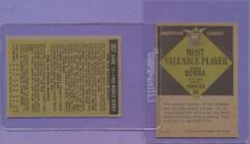 2 Card Lot 1961 Topps Yankees Mickey Mantle Yogi Berra MVP HOF 307 472 VG