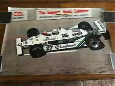 Original Alan Jones Formula 1 Poster Paul Oxman
